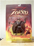 Classic Zorro With Slashing Action Figure, Mip