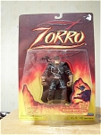 Barbed Wire Zorro With Slashing Action Figure, Mip