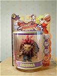 Street Fighter Akuma Action Figure By Capcom, Mip