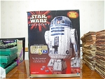R2 D2 3d Puzzle With Electronic Voice Box, Complete