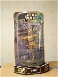 C 3po 6.5 Inch Display Figure With Base, Mip