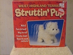 West Highland Terrier Struttin' Pup Electronic Puppy