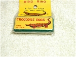 Mip Tin Lithograph Crocodile Eggs