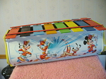 1970s Tin Lithographed Disney Character Xylophone