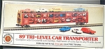 15 Car Tri Level Car Transporter N Scale Train Car