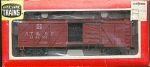 Santa Fe Atsf Wood Sliding Door Box Ho Scale Train Car