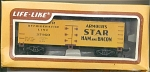 Armour Star Refrigerator Ho Scale Train Car