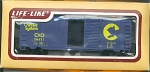 Chessie System Sliding Door Box Ho Scale Train Car