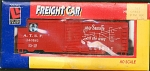 Santa Fe Atsf Sliding Door Box Ho Scale Train Car