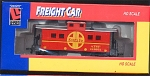 Santa Fe Astf Caboose Ho Scale Train Car