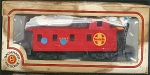 Santa Fe Caboose Ho Scale Train Car