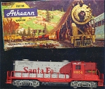 Santa Fe Box Front Diesel Line Ho Train Locomotive