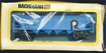 The Rock Boxwith Hopper Ho Scale Train Car