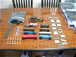 Santa Fe Streamline 83 Piece Ho Train Set No. 1