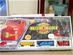 79 Piece Galaxy Santa Fe Complete Train With Original