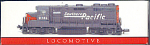 Southern Pacific Train Engine, Coal Car & Tank Car, Mib