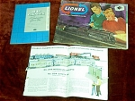 3 Catalogs Including 2 Lionel Train Catalogs