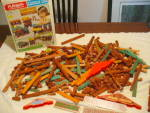 1977 Lincoln Logs Double L Ranch Set By Playskool
