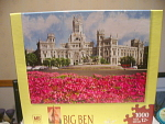 Plaza De Cibeles, Spain Puzzle By Big Ben, Mib