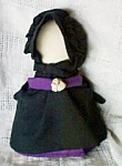 Amish Praying Girl Handmade Cloth Doll