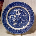 Steventon Blue Willow 9 In. Plate