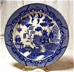 Vintage Blue Willow 6 In.plate Japan