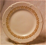 Shenango 6 1/2 In.plate-mustard Yellow Design