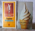 Vintage 1970s Coldelite,taylor Soft Serve Brochures