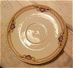 Royal Bayreuth Pink Rose Saucers-lot Of 5