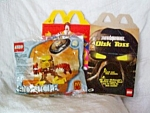 Lego Bionicle 2001 Mcdonald's Jalla Mip With Box