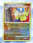Hariyama Pokemon Card 2008 Rev. Foil/holo