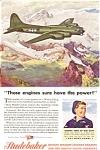 Studebaker B-17 Engine Wwii Ad