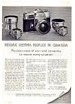 Kodak Retina Reflex Camera Ad