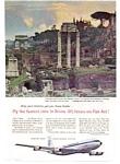 Panam Roman Forum Ad Ad Mar 1960