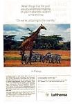 Lufthansa In Kenya Ad