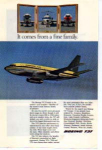 Boeing 737 Jetliner Ad