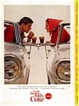 Coca Cola Ad April 1965