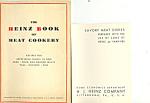 Hj Heinz Company Vintage Cook Booklets Lot (2)
