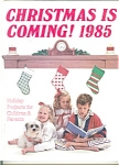 Christmas Is Coming 1985 Crafts Book