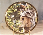 Nosy Neighbors-house Sitting- Cat/bird Collector Plate