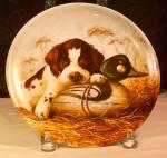 Dog Tired-the Springer Spaniel 1987 Plate