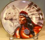 Spirit Of The White Wolf Native American Collector's P