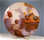Norman Rockwell-the Shadow Artist- Plate
