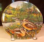 The Woodcock Collector Plate By Wayne Anderson