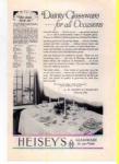 Heisey Glassware Ad 1927