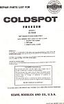 Sears Coldspot Freezer Manual
