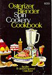 Osterizer Blender Spin Cookery Cookbook Manual