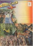 Ausable Chasm Ny Souvenir Folder