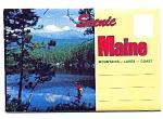 Souvenir Folder Of Scenic Maine