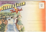 Souvenir Folder Ausable Chasm Ny